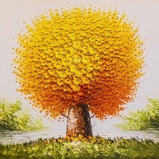 Дерево желаний. Оранжевый цвет