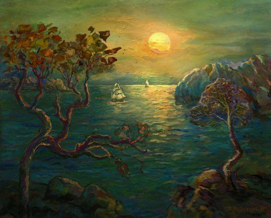 морской пейзаж-2
