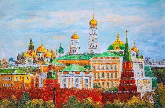 Москва златоглавая. Версия AV