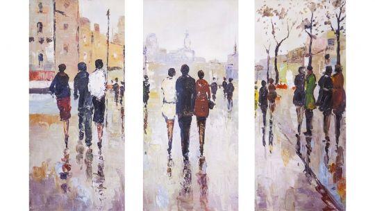 Городские прогулки. Зарисовки. Триптих