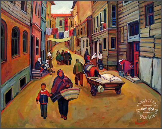 Жизнь старого города. Стамбул.