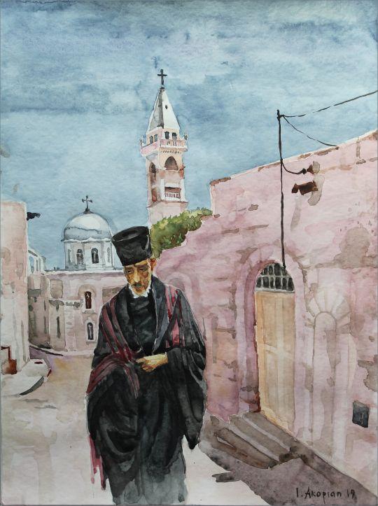 Копт в Палестине (Бель-Джала)