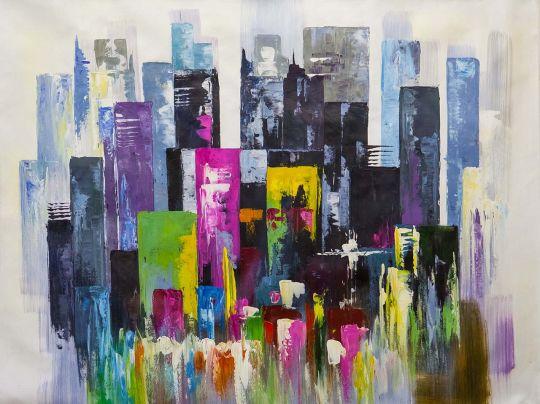 Разноцветный мегаполис