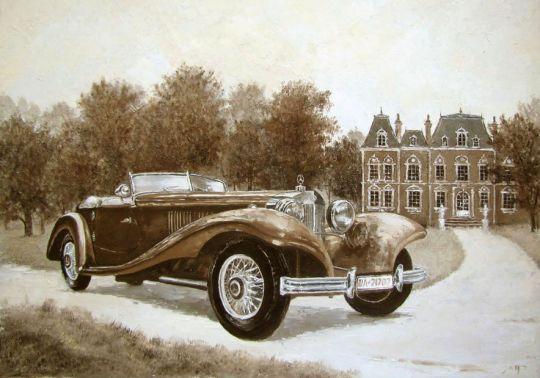 Мерседес 500К 1935 года