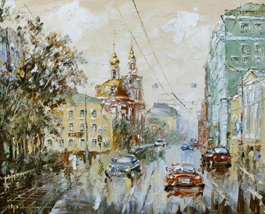 Старая Басманная ул. Москва