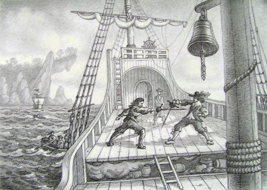 Пиратская сцена 2.