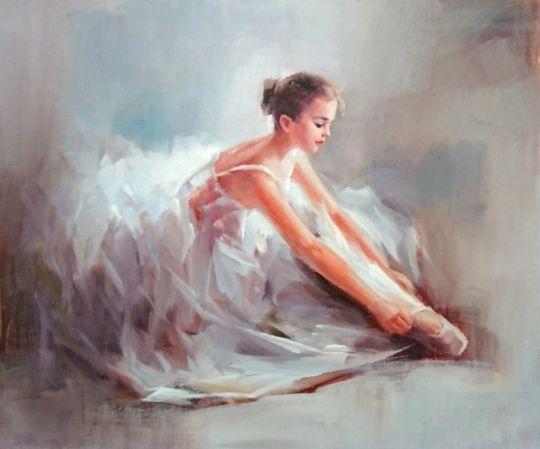 Маленькая балерина.худ.С.Минаев