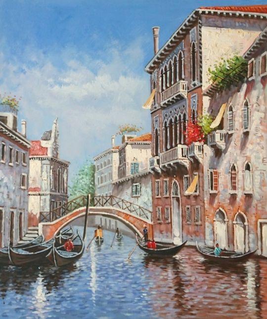 Утренняя Венеция.худ.А.Бруно