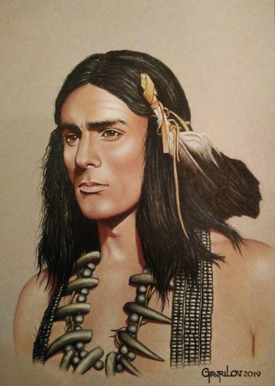Портрет 2. Чингачгук