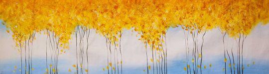 Золотые деревья. Осенний флёр