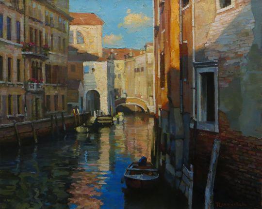Тихое утро в Венеции