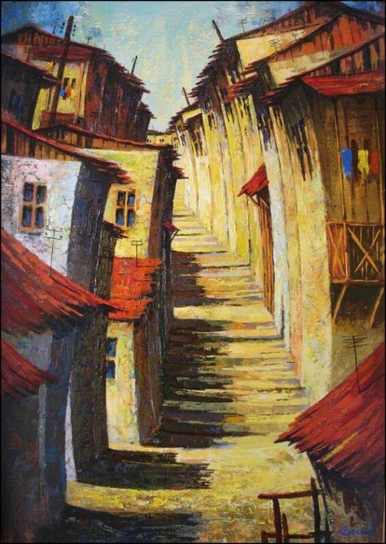 Старый город в Армении