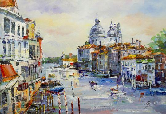 Венецианские прогулки. Вид на Гранд-канал