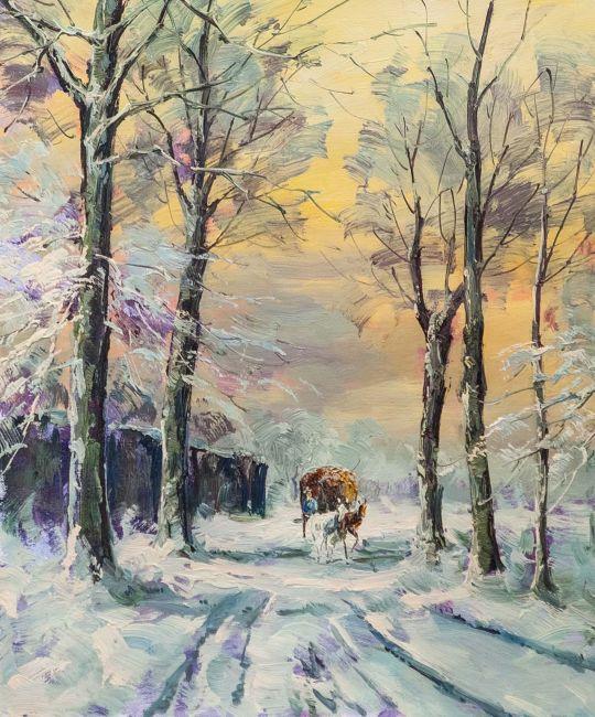 По дороге зимней, по дороге снежной N2