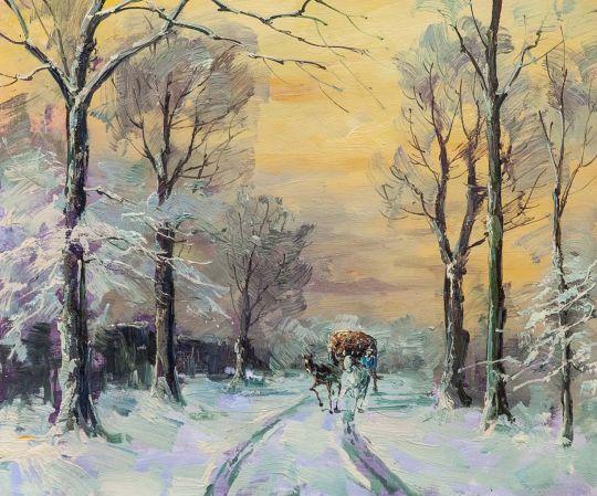 По дороге зимней, по дороге снежной N3