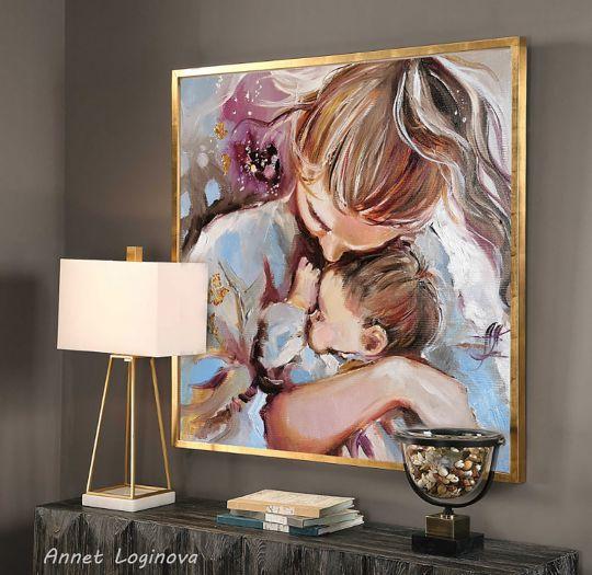 Нежный день Картина о материнстве