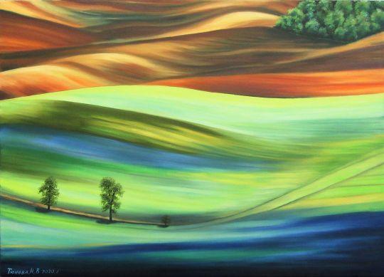 Разноцветная долина 2