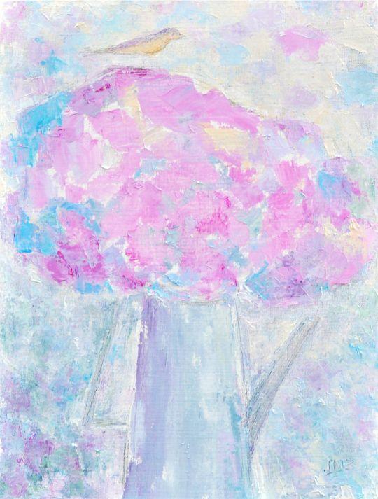 Картина маслом Розовый букет