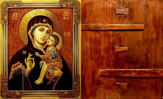 Вариация на тему иконы Донской Богоматери