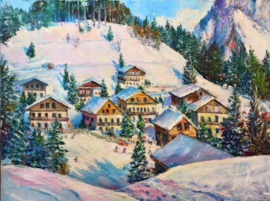 Горнолыжная деревня