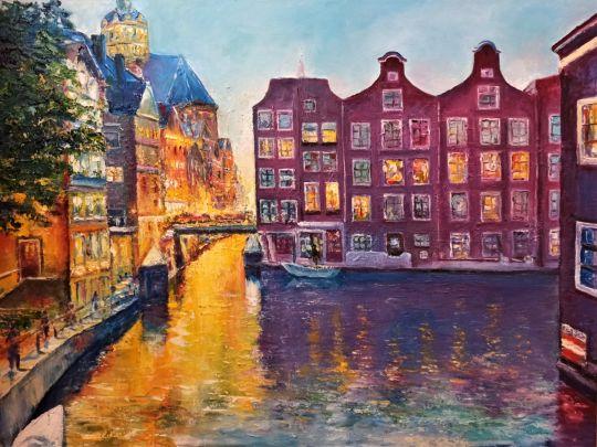 Вечер в Амстердаме