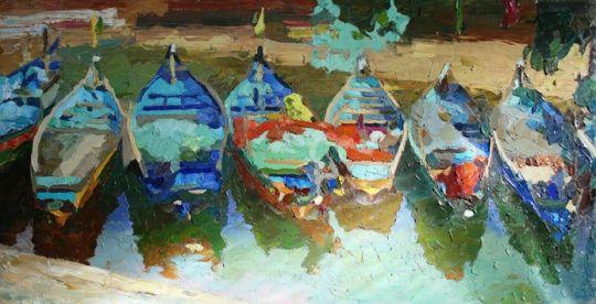 Лодки в Гоа