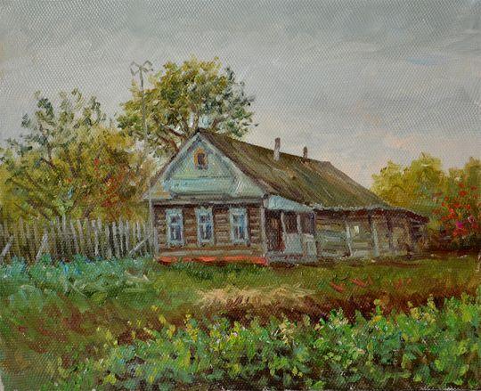 Старый дом в Пушкино