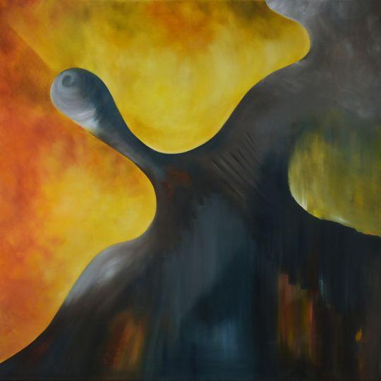 ВОПЛОЩЕНИЕ МЕЧТЫ 110*110 cm, оригинальная картина маслом