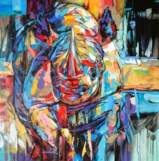 Носорог.худ.Л.гарсия