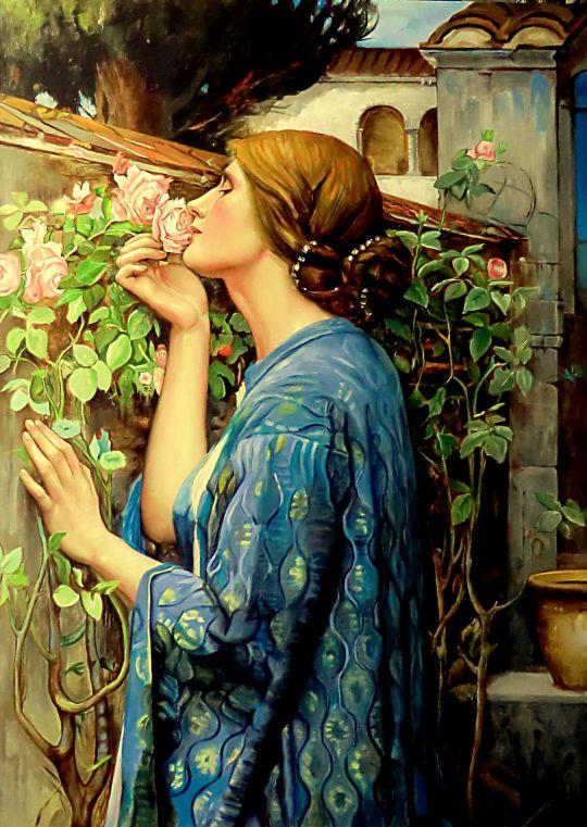 Душа розы (коп с Уотерхауса)