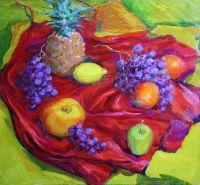 Натюрморт с ананасом.
