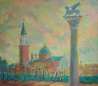 Венецианская лагуна.Площадь Святого марка.