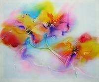 Порхающие цветы
