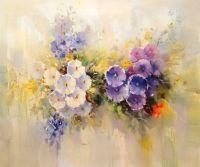 Летние цветы.худ.А.Джанильятти