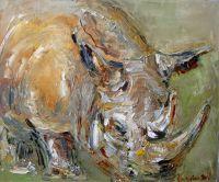 Рыжий носорог
