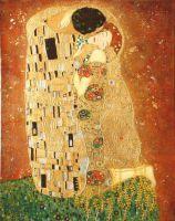 Поцелуй (копия Г.Климта).