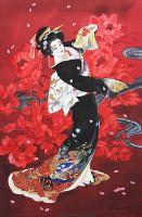 Танцующая Японка