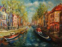 Весенний Амстердам
