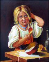 Крестьянская девочка