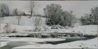 Зимой у реки Мезмайки