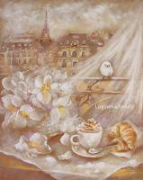Завтрак в Париже
