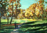 Осень Ботанический сад