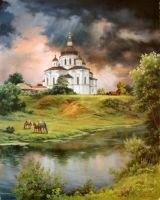 Великие Сорочинцы. Преображенская церковь. (1732 г).