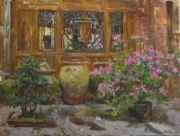 Азалии в цвету