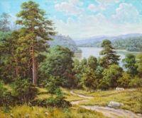 Летний лес.худ.Р.Смородинов