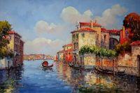 Солнечная Венеция.худ.А.Бруно