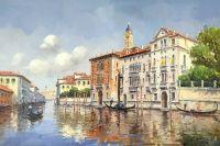 Тихая Венеция.худ.А.Бруно