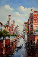 Утро в Венеции.худ.А.Бруно