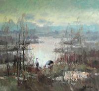 Утро на болоте