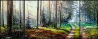 Триптих Лесная прогулка